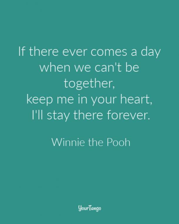 Winnie the Pooh grief quote