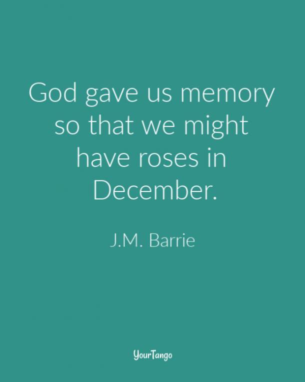JM Barrie Grief Quote