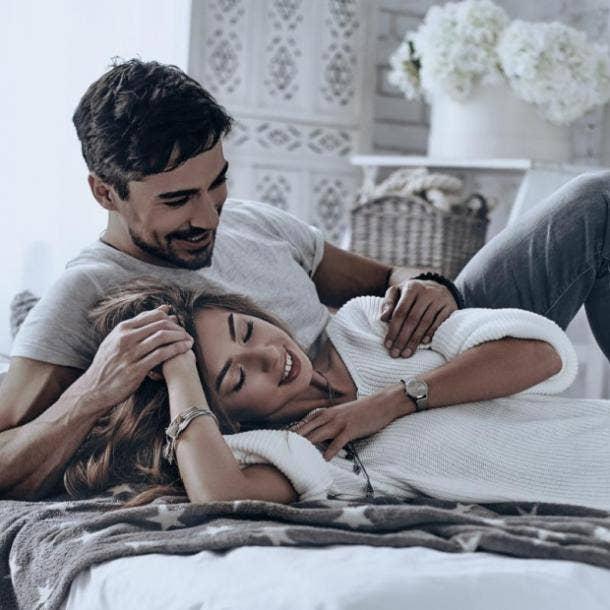guy and girl feeling comfortable