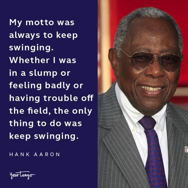 Hank Aaron quote
