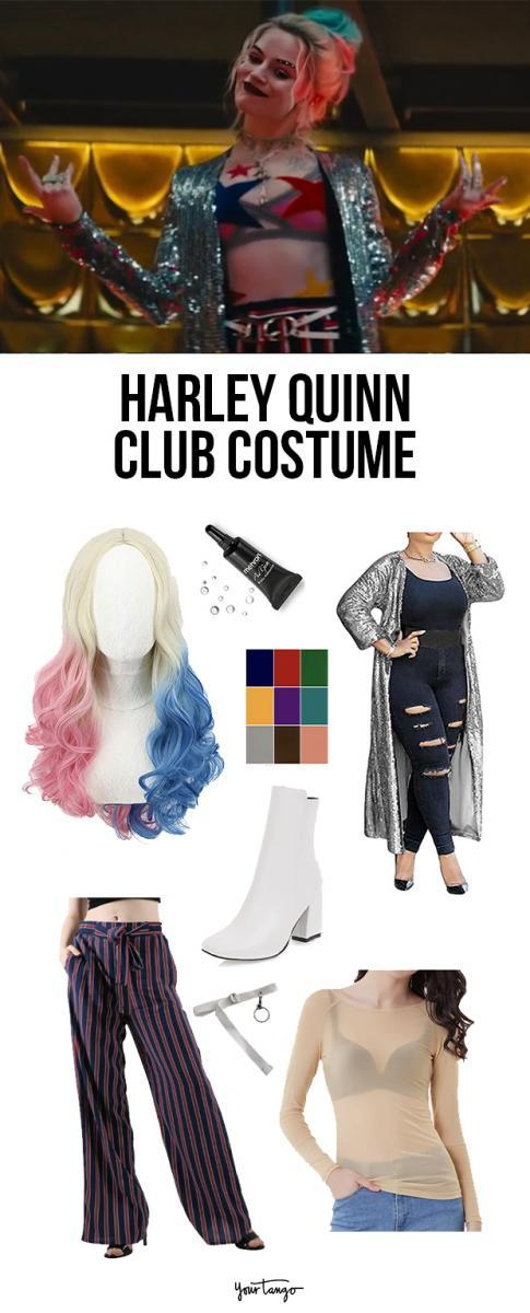 Harley Quinn's Club Outfit From 'Birds Of Prey' Costume