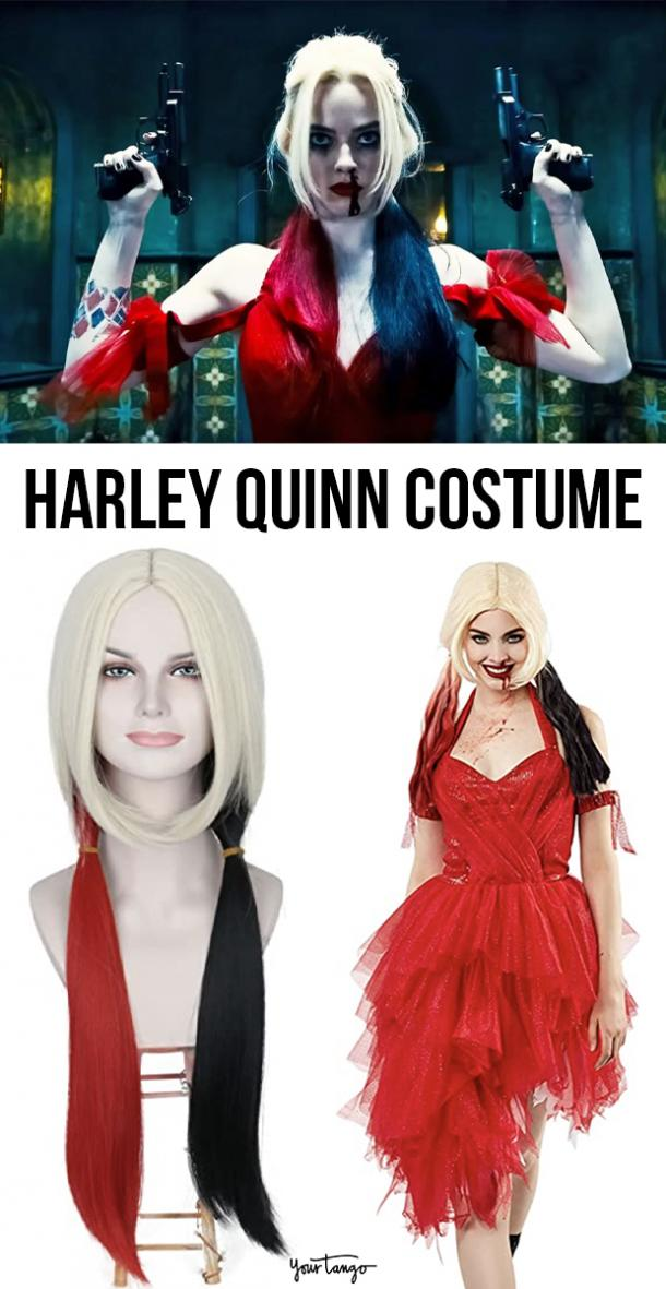 """Harley Quinn Red Dress """"The Suicide Squad"""" Costume"""