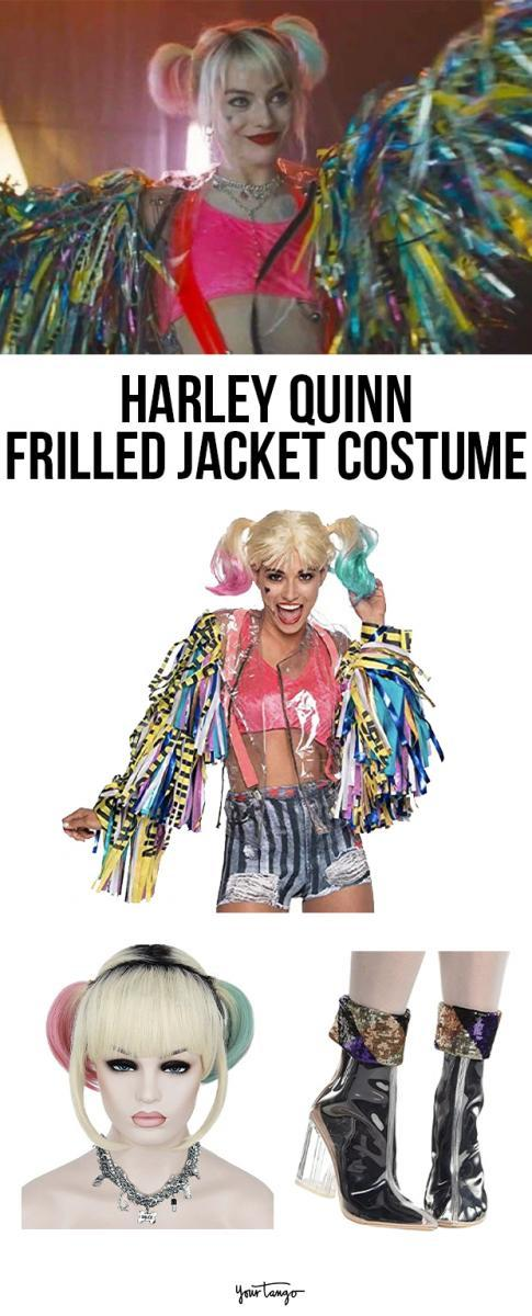 Harley Quinn Fringed Jacket 'Birds Of Prey' Costume