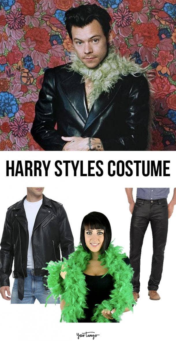 Harry Styles Feather Boa 2021 Grammys Costume