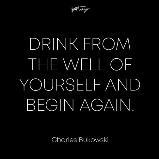 charles bukowski healing from divorce quotes