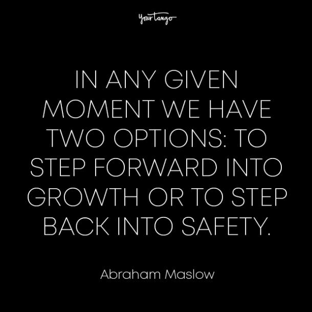 abraham maslow healing from divorce quotes