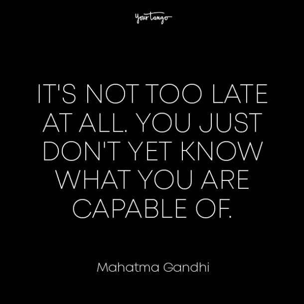 Mahatma Gandhi healing from divorce quotes