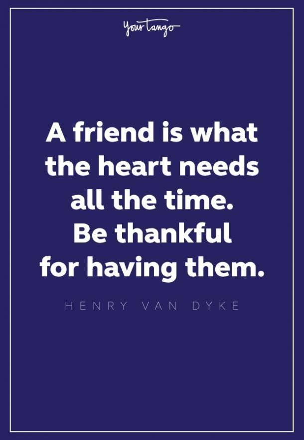 Henry Van Dyke thankful quote