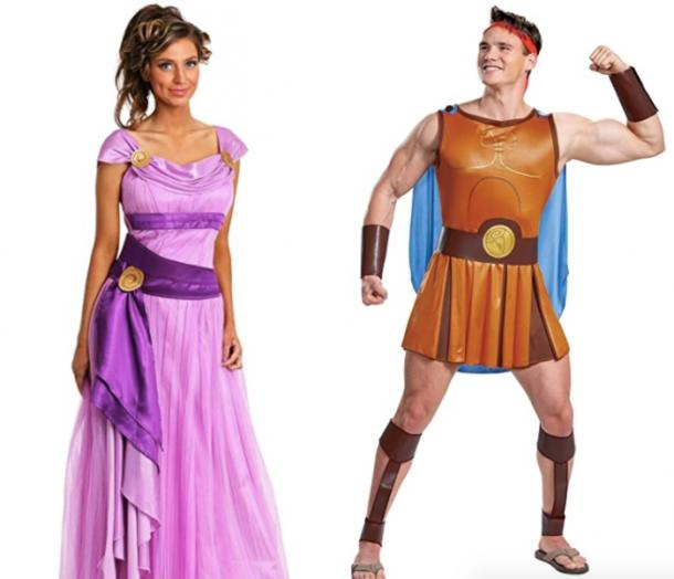 hercules and meg couples costume
