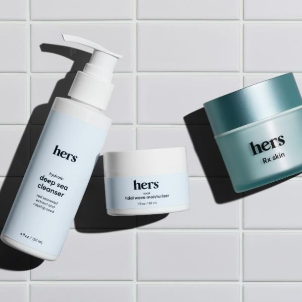 hers acne clear skin system