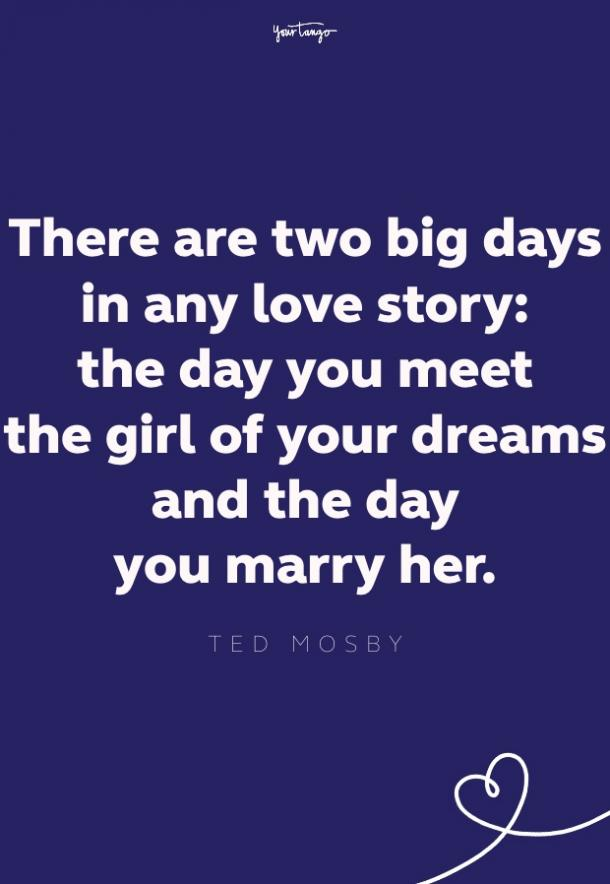 ted mosby quote