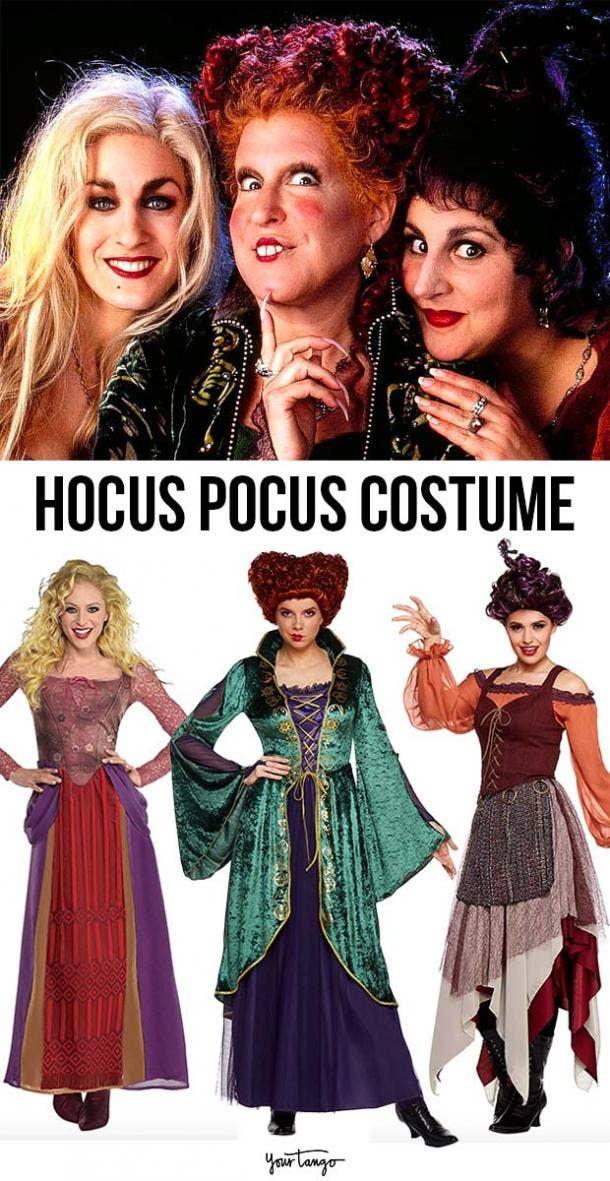 """Hocus Pocus"" 1993 Sanderson Sisters Costumes"