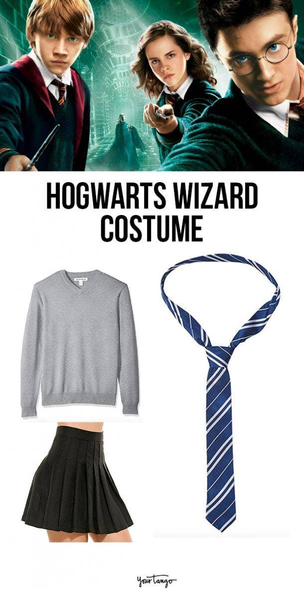 harry potter wizard last minute halloween costumes