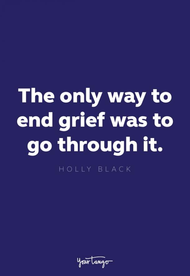 holly black quote about grief