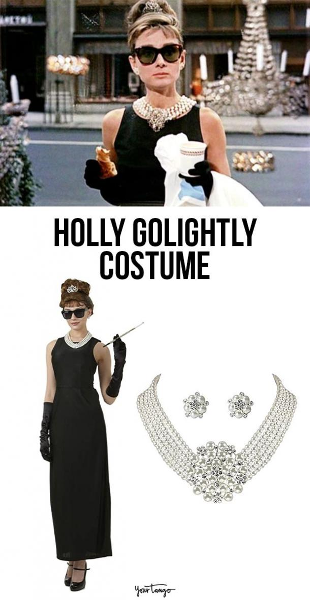 holly golightly last minute halloween costumes