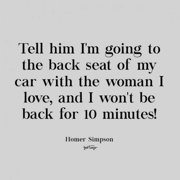 homer simpson cute love quote
