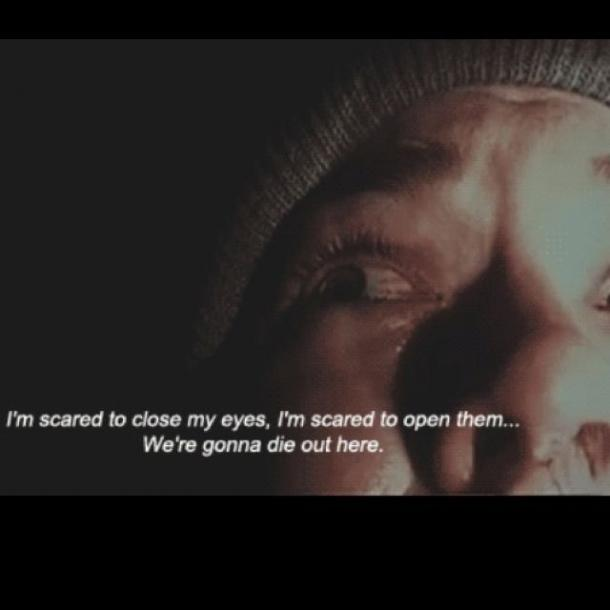 blair witch project quote