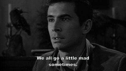 psycho movie quote