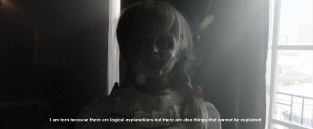 annabelle movie quote