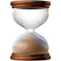 hourglass emoji