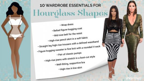 hourglass shape body type