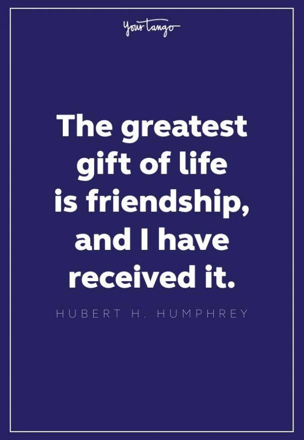 Hubert H Humphrey thank you quote