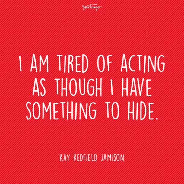 Kay Redfield Jamison mental health quote