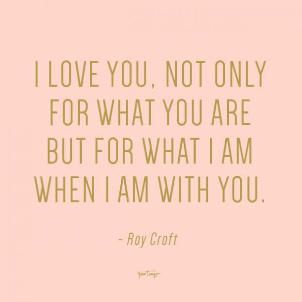 roy croft i love you quote