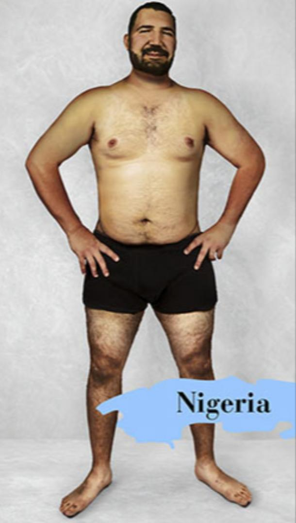 ideal male body type in Nigeria