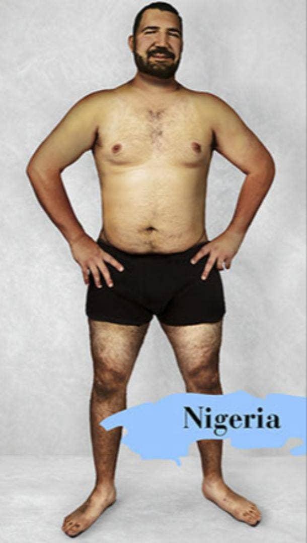 ideal male body type in Nigeria