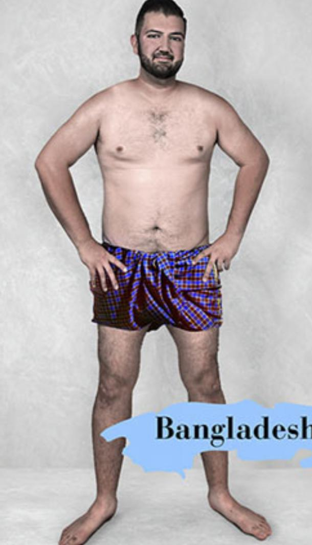 ideal male body type in Bangladesh