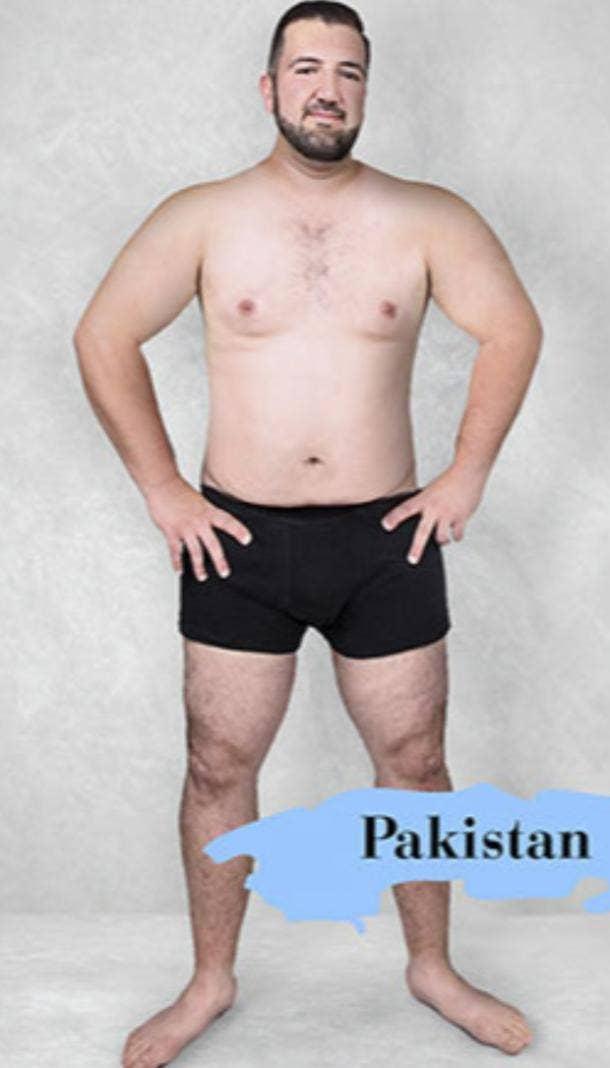 ideal male body type in Pakistan