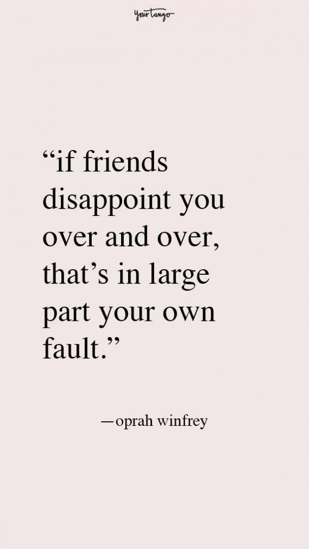 Oprah Winfrey best friend fight quotes