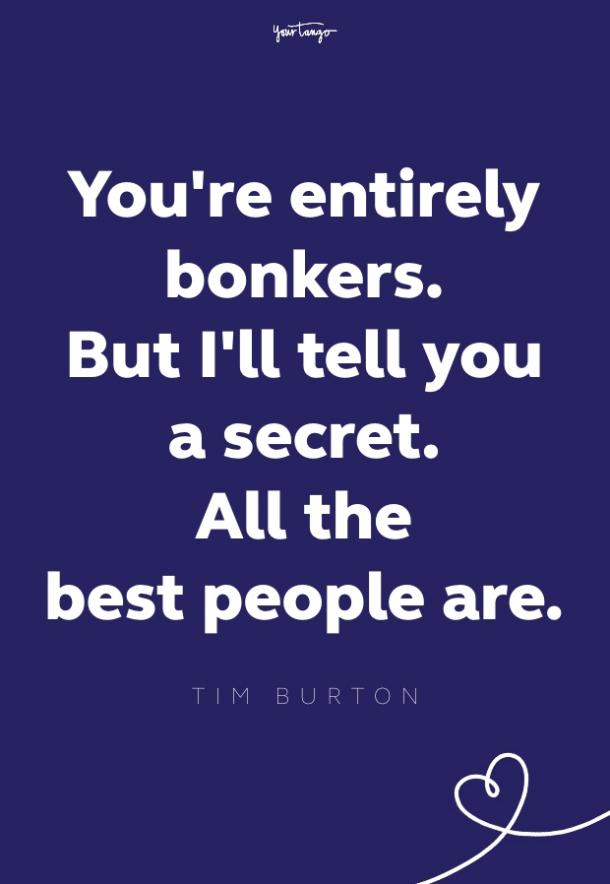 tim burton imagination quote