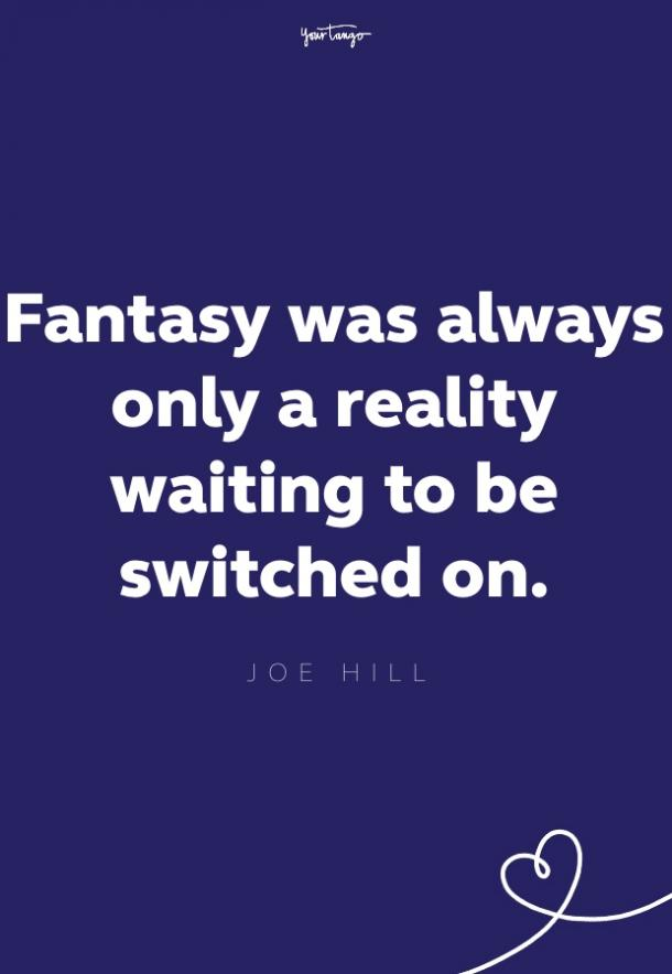 joe hill imagination quote