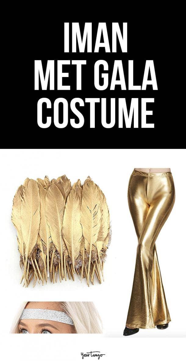 Iman Gold Dolce Gabbana Inspired Costume Idea