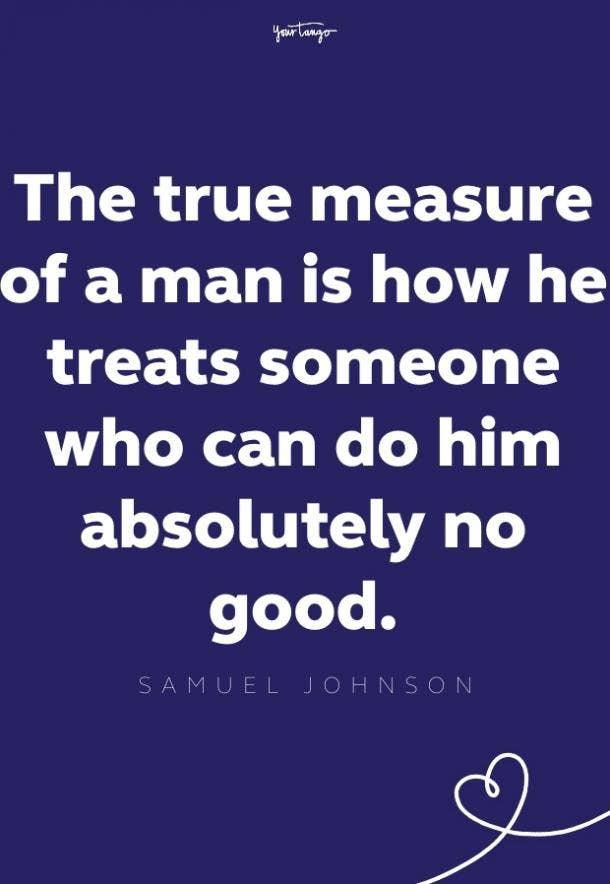 samuel johnson inspirational quote for men