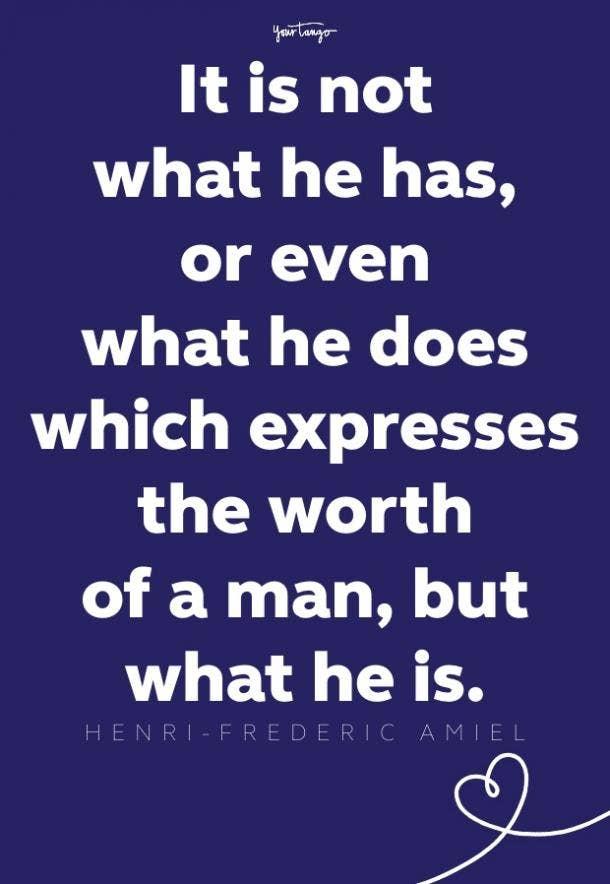 henri-frederic amiel inspirational quote for men