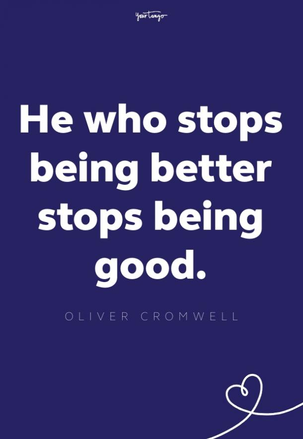 oliver cromwell inspirational quote for men