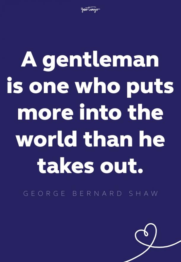 george bernard shaw inspirational quote for men