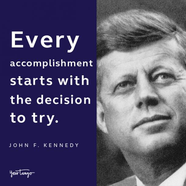 john f kennedy presidents day quote