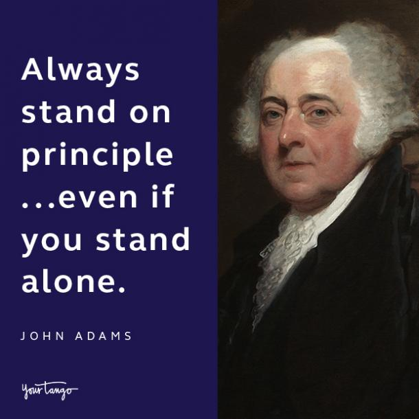 john adams presidents day quote