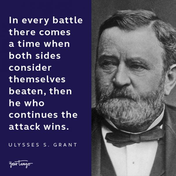 ulysses s grant presidents day quote