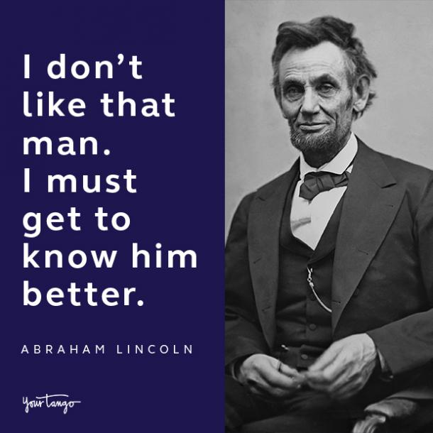 abraham lincoln presidents day quote