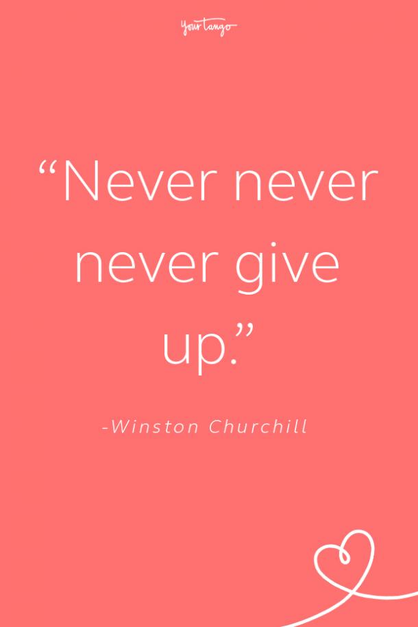 Winston Churchill Suicide Prevention Quote