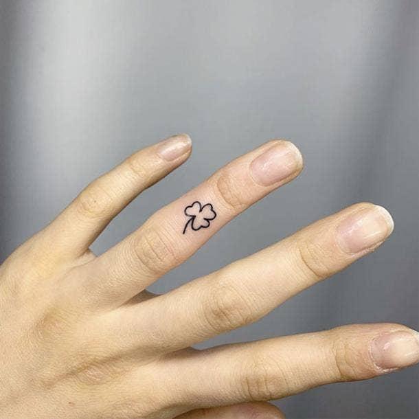 Irish Wedding ring tattoo