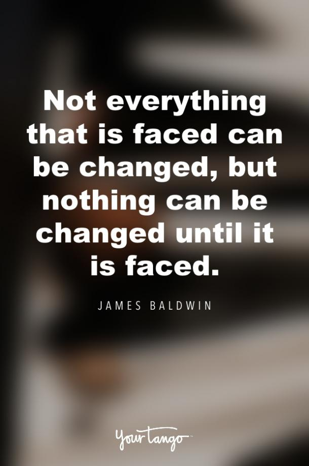 james baldwin quote about change