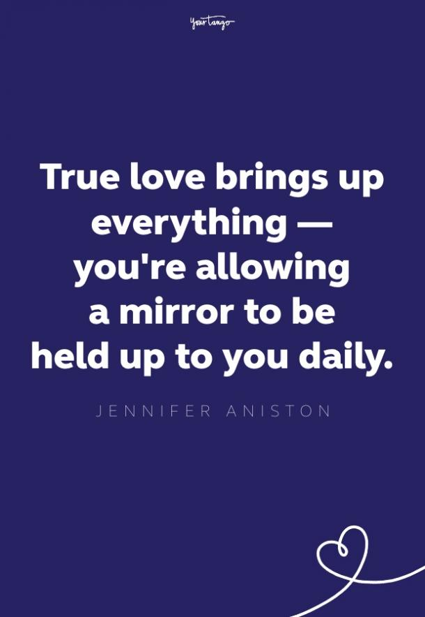 jennifer aniston love quote