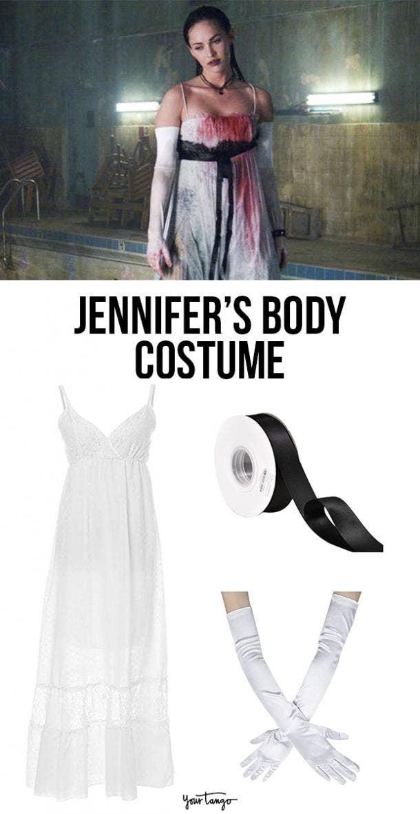 """Jennifer's Body"" Bloody White Dress Costume"