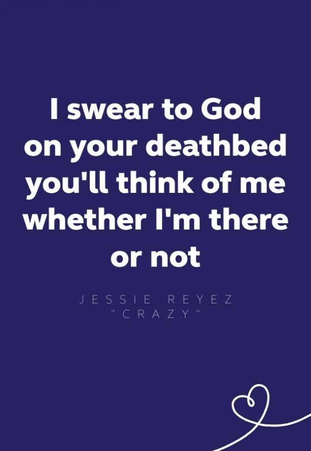 jessie reyez crazy lyrics